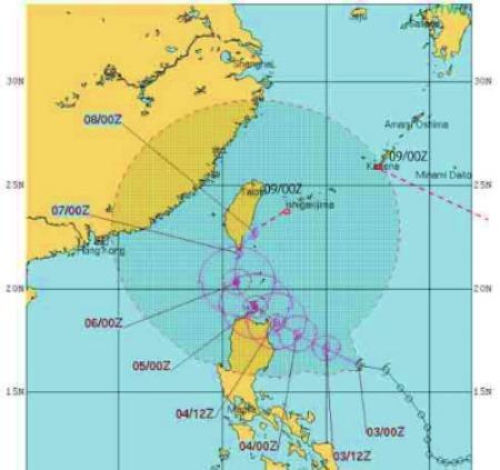 9号、10号は沖縄の南で9日に出会う?_e0028387_19221011.jpg