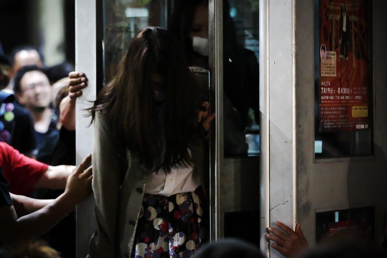 柳ケ瀬「夜空カフェ」に口裂け女登場!! 2015 _c0115616_19103761.jpg