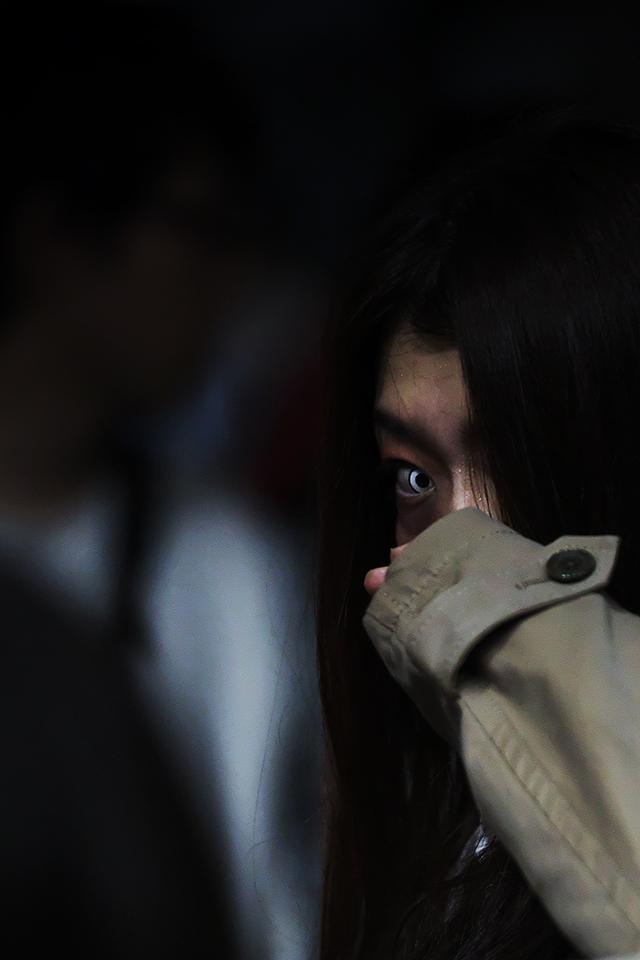 柳ケ瀬「夜空カフェ」に口裂け女登場!! 2015 _c0115616_19121423.jpg