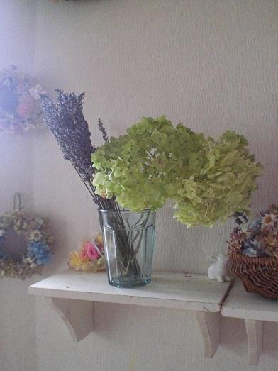 アナベル茎付紫陽花2セット_c0207719_1964216.jpg