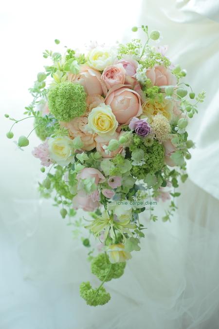 ブーケ ヨコハマグランドインターコンチネンタルさまへ 絆KIZUNA 花嫁様と、お母様と_a0042928_1314988.jpg