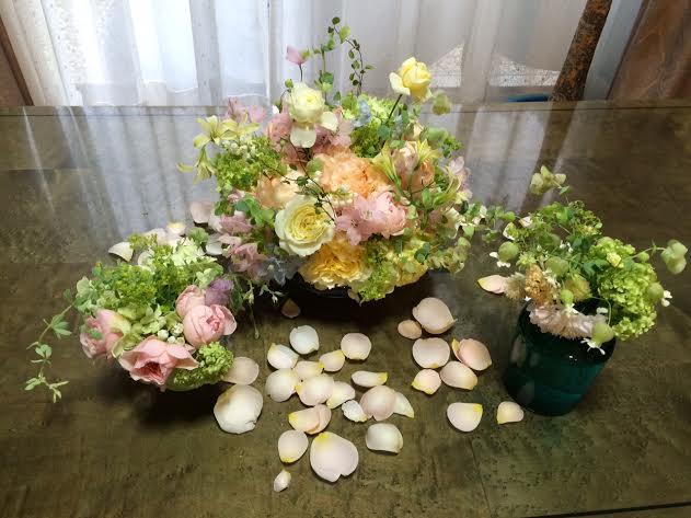 ブーケ ヨコハマグランドインターコンチネンタルさまへ 絆KIZUNA 花嫁様と、お母様と_a0042928_1474099.jpg