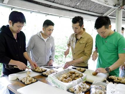 「祇園 さゝ木」一門会 BBQを開きました。_d0284244_13304546.jpg