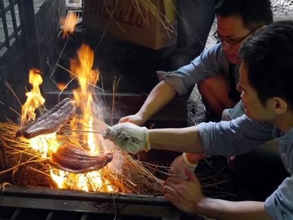 「祇園 さゝ木」一門会 BBQを開きました。_d0284244_1331977.jpg