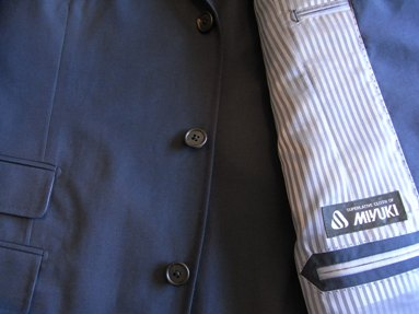 「上質な夏のコットンスーツ」 ~【SHATIHOKO】スーツ~ made in japan 編_c0177259_17192911.jpg