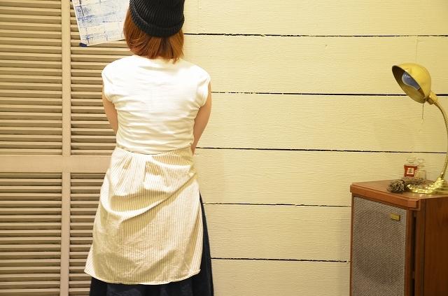 -- New --- D.M.G. ストライプシャツの使い方。_a0256162_19505322.jpg
