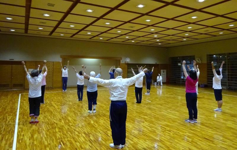 ラジオ体操講習会_f0059673_21480483.jpg