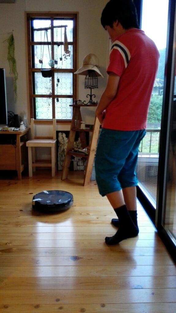 お掃除ロボ トルネオと頂き物(*^▽^*)_f0213778_18504256.jpg