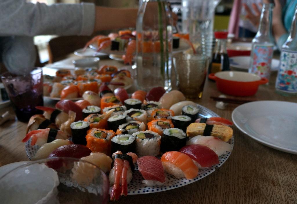 夏らしい週末のブランチと晩餐。_c0180686_20134036.jpg