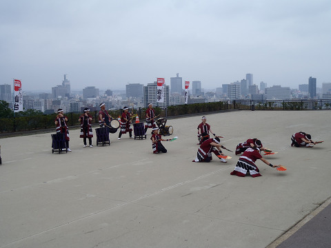 青葉城跡演舞_b0074601_22114245.jpg