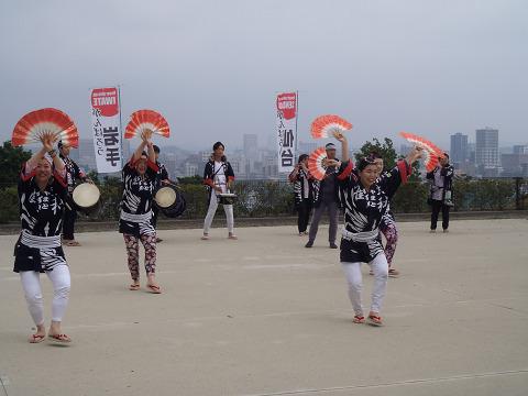 青葉城跡演舞_b0074601_2293195.jpg