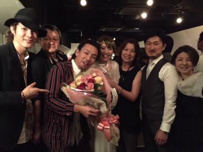 6月28日感動の披露宴に〜❤️_a0103759_19484850.jpg
