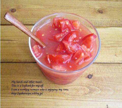 イエシゴトVol.119 残り野菜で塩トマト&ピクルス作り_e0274872_14172045.jpg