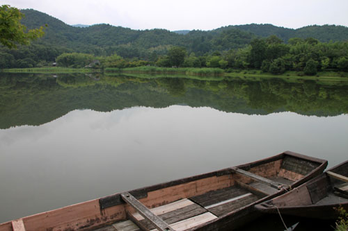 広沢の池 ザリガニ釣り_e0048413_21352393.jpg
