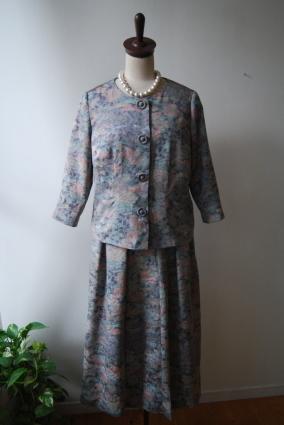 着物リメイク・着物からジャケット&スカート_d0127925_11062656.jpg