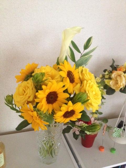 黄色い花束_b0207536_11441944.jpg