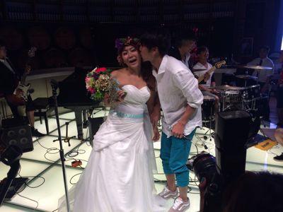 斎藤選手結婚パーティー⭐︎_c0151965_1712544.jpg