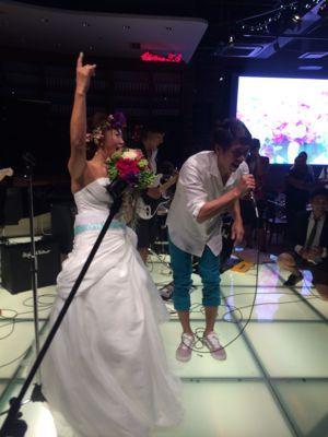 斎藤選手結婚パーティー⭐︎_c0151965_1712893.jpg