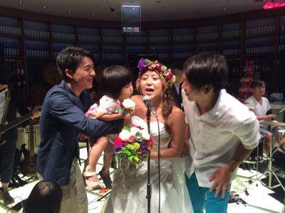 斎藤選手結婚パーティー⭐︎_c0151965_1713091.jpg