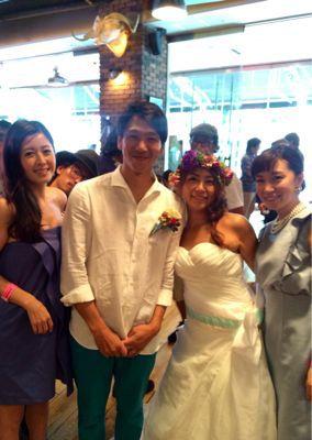 斎藤選手結婚パーティー⭐︎_c0151965_1713549.jpg