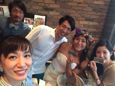 斎藤選手結婚パーティー⭐︎_c0151965_1713753.jpg