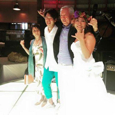 斎藤選手結婚パーティー⭐︎_c0151965_1715384.jpg