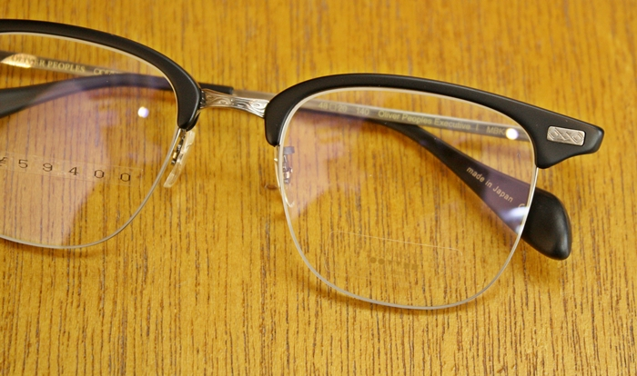 「OLIVER PEOPLES EXECUTIVE Ⅰ、Ⅱ」_f0208675_1951553.jpg