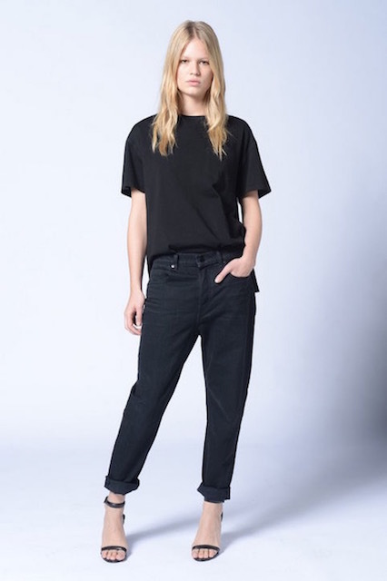 ONLINE UP! DENIM×ALEXANDEER WANG 003 BOY FIT BLACK_f0111683_15570710.jpg