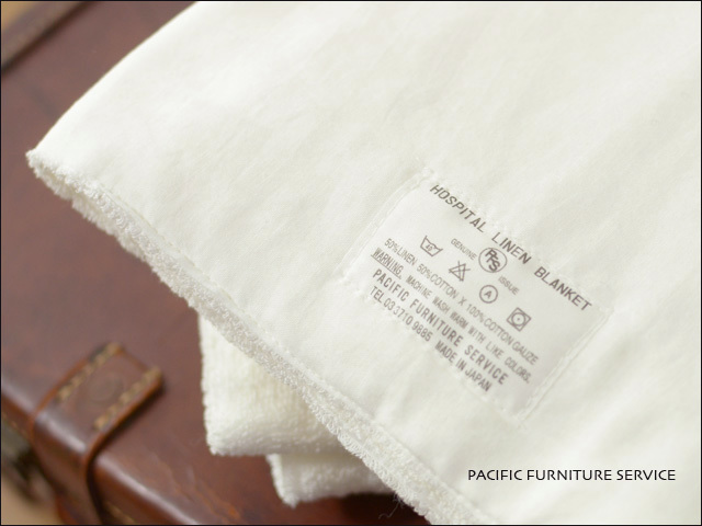 PACIFIC FURNITURE SERVICE[パシフィックファニチャーサービス] HOSPITAL LINEN BLANKET HARF [TWH0004] _f0051306_16574726.jpg