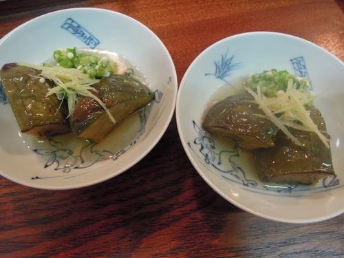 茄子の煮物 おくら_e0116211_1032297.jpg