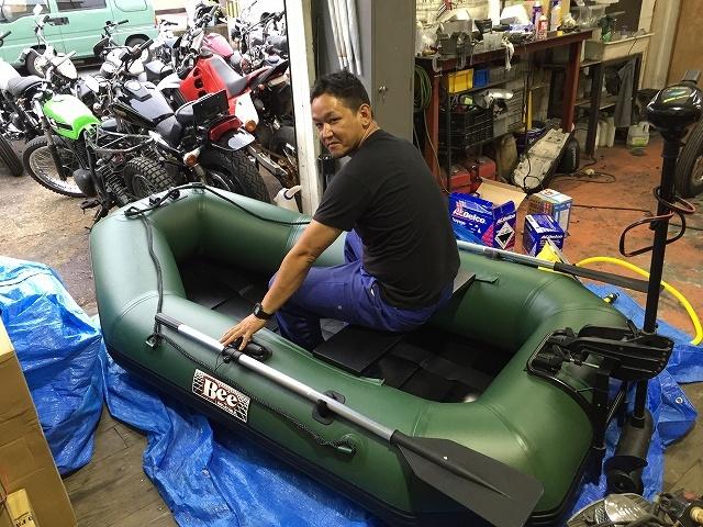 JET釣り部に新たなボートがやって来ました!_a0164918_19502101.jpg