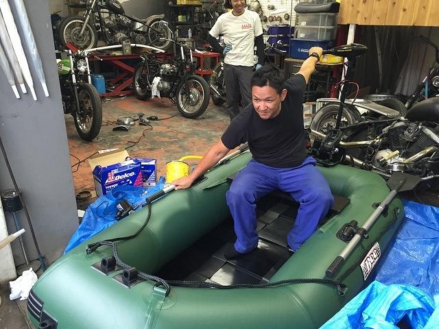 JET釣り部に新たなボートがやって来ました!_a0164918_19502650.jpg