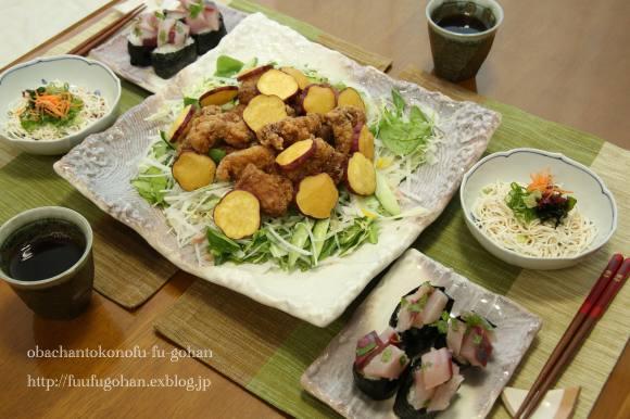 七夕祭り弁当&ちょこっとおうちバル_c0326245_11394208.jpg