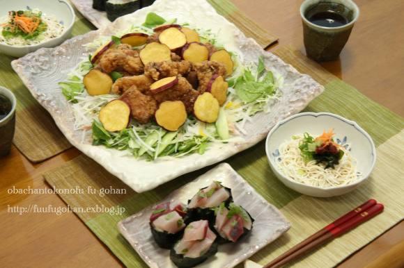 七夕祭り弁当&ちょこっとおうちバル_c0326245_11405935.jpg