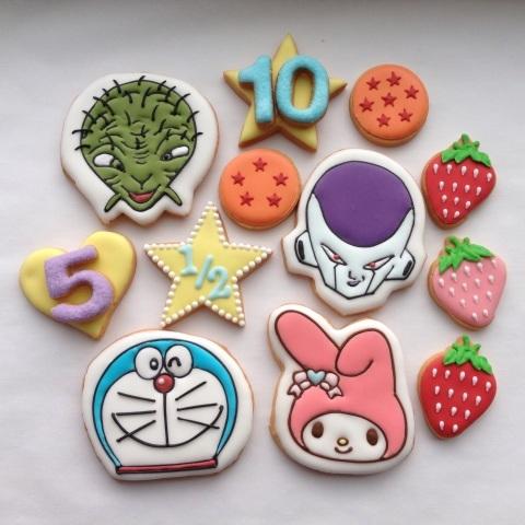 アイシング クッキー キャラクター