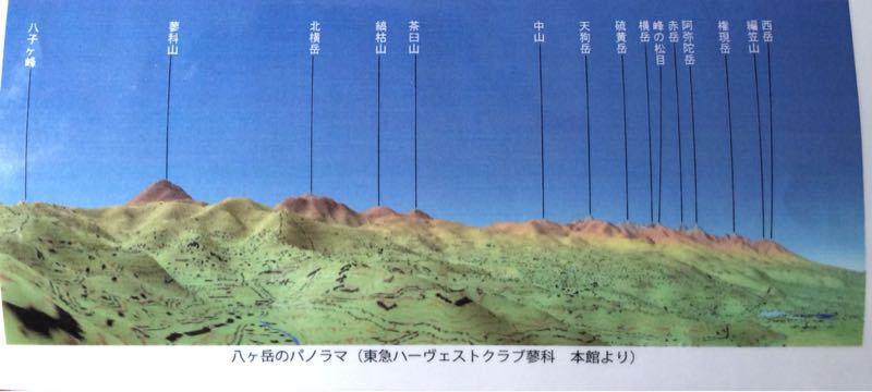 八ヶ岳連峰_e0233674_7463147.jpg