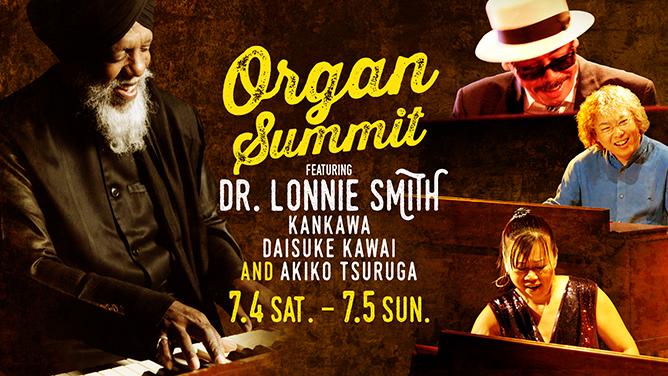 Dr, Lonnie Smith  at BlueNote TOKYO (^^)/_a0163788_20184818.jpg