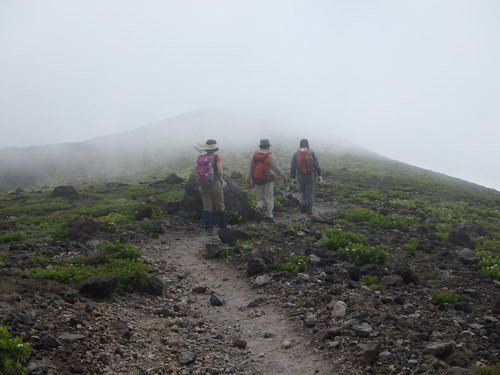 樽前山、7月5日-同行者からの写真-_f0138096_20385742.jpg