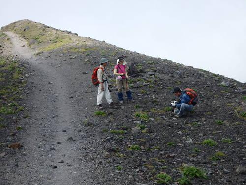 樽前山、7月5日-同行者からの写真-_f0138096_20392150.jpg