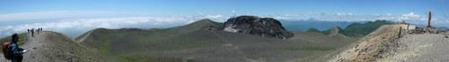 樽前山、7月5日-同行者からの写真-_f0138096_20393458.jpg