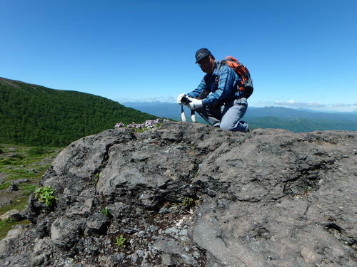樽前山、7月5日-同行者からの写真-_f0138096_2039872.jpg