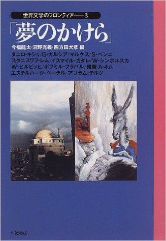 世界文学のフロンティア3 「夢のかけら」_b0074416_1951916.jpg