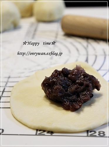 とうもろこしと枝豆おむすび弁当とあんぱん♪_f0348032_19333543.jpg