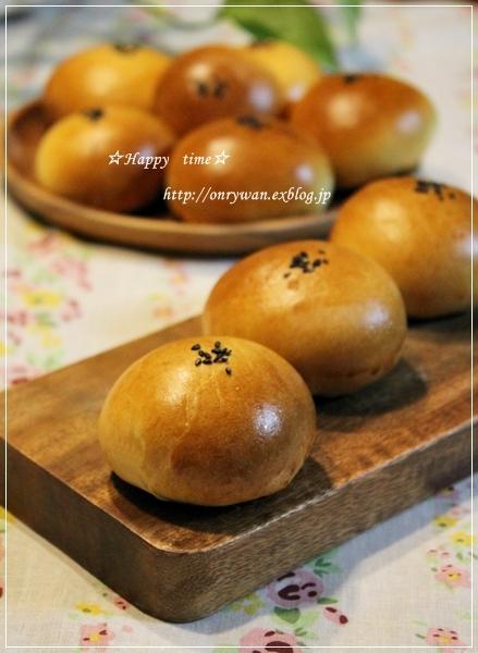 とうもろこしと枝豆おむすび弁当とあんぱん♪_f0348032_19334295.jpg