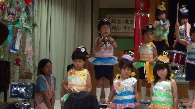 平成27年7月4日保育園の七夕発表会_c0155364_2583180.jpg