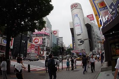 7月8日(水)今日の渋谷109前交差点_b0056983_11025671.jpg
