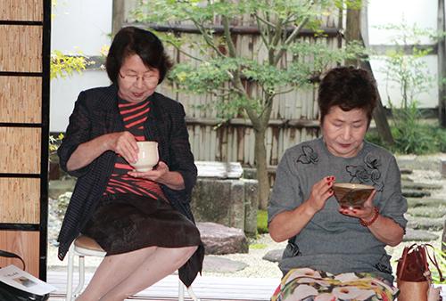 夏のお茶会~_d0227889_1511889.jpg