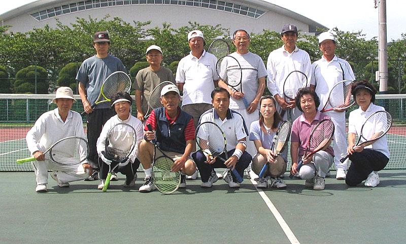 10周年を迎えたシニアテニスクラブ_b0114798_17593725.jpg