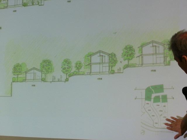 景観やみどりに配慮した民間の住宅地開発「あさひの杜」のトークショー_f0141310_655234.jpg