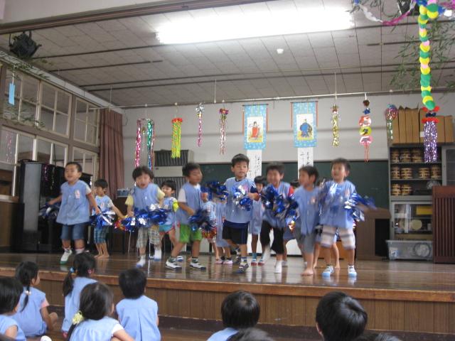 七夕祭り・誕生会_c0107515_21482334.jpg